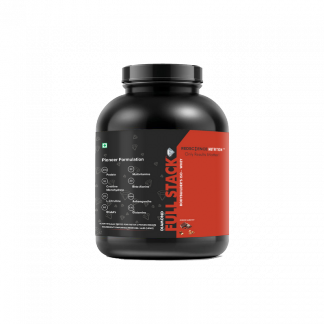 World's First FULL STACK™ Diamond ISO-Whey